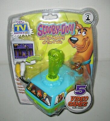 Scooby-Doo TV Games (TV game systems, 2006) Plug & Play Video Game *New in Pack*