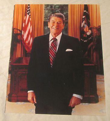 "RONALD REAGAN LIBRARY Dedication Photo, 1991 -- 8"" x 10"" Glossy -- Oval Office !"
