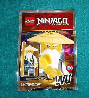LEGO NINJAGO LEGACY: Master Wu Polybag Set 111902 BNSIP