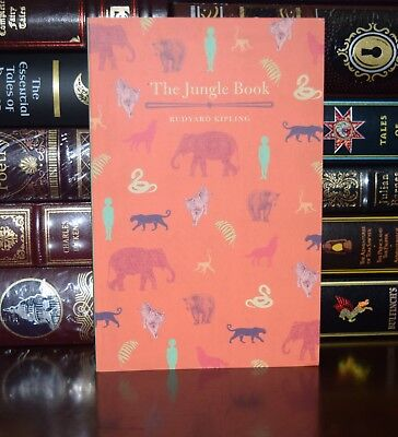 The Jungle Book by  Rudyard Kipling Unabridged New Illustrated  Paperback Gift