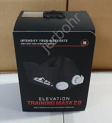 ELEVATION Training Mask 2.0  High Altitude MMA Fitness - Medium = 150 - 240 lbs.