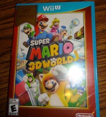 Wii U Super Mario 3D World – Brand New