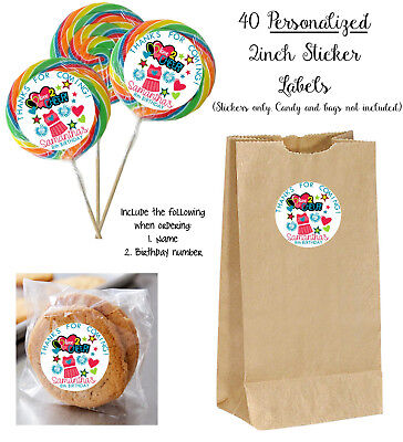 40 CHEER Personalize STICKERS for Lollipops, birthday party favors, Cheerleading](Cheer Party Favors)