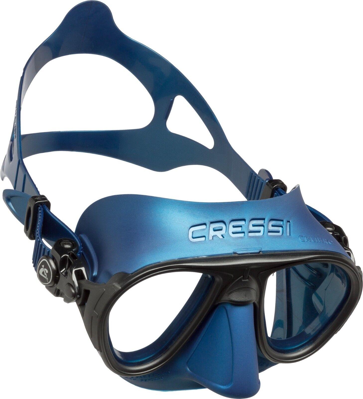 Calibro Cressi Maske One Size Blue / Tauchmaske / Brille / Schnorcheln / Apnoe