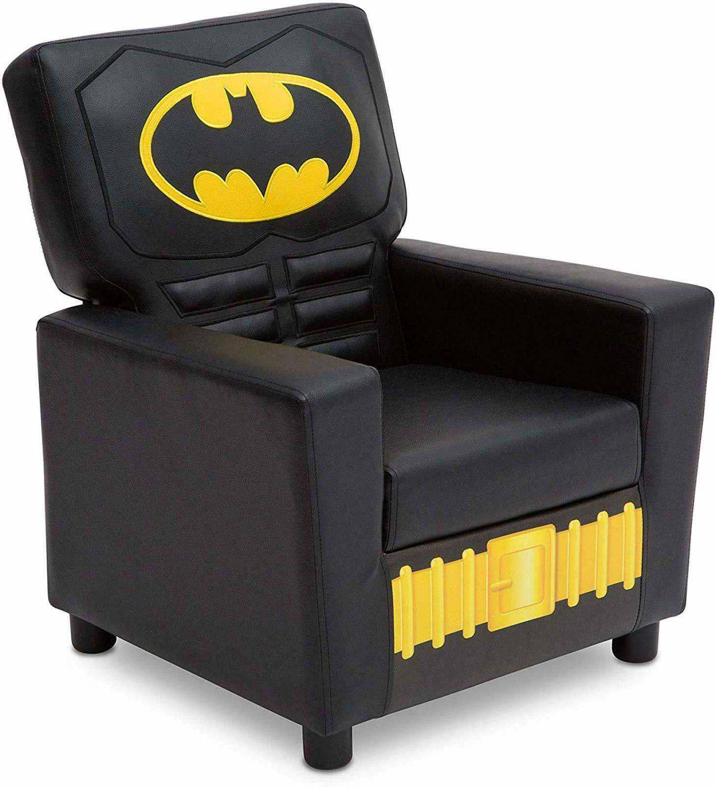Toddler Chair Couch Batman Furniture Kids Bedroom Decor Dc Comics Super Hero Ebay