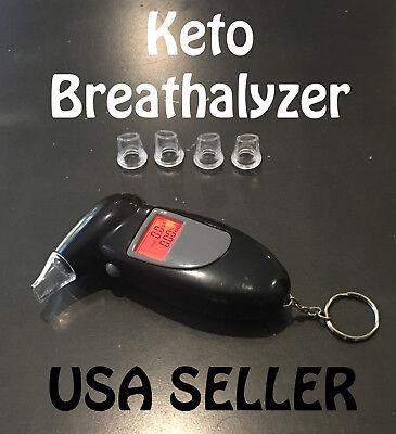 Keto Breathalyzer Alcohol Acetone reader Ketosis Ketone tester monitor meter