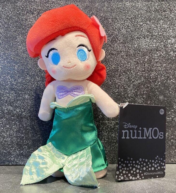 Disney Nuimo nuiMOs Princess Ariel Little Mermaid Plush Doll Toy NEW