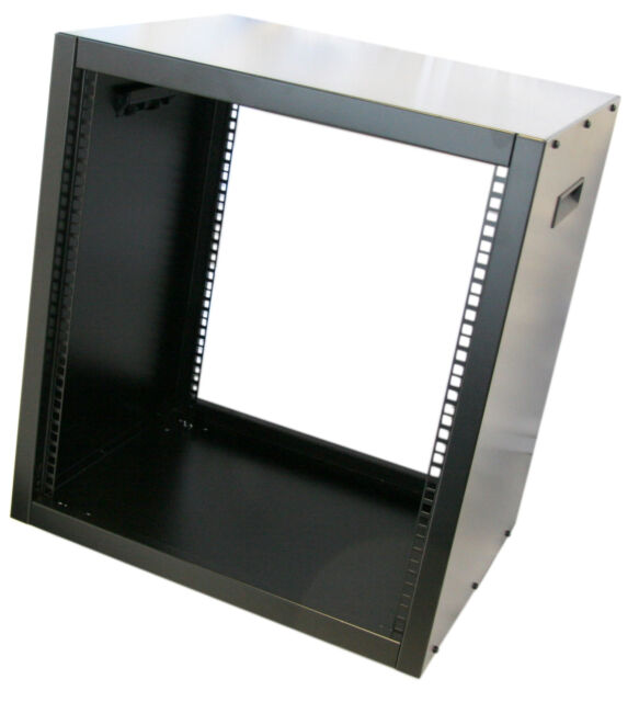 12u Rack Cabinet 19 Inch 435mm Deep Robust Pro Audio Network Case ...