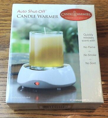 Genuine Candle Warmers Etc Original Plate Warmer w/Auto Shut Off for Jar Candles