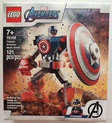 LEGO Marvel Avengers 76168 Captain America Mech Armor 121 pcs NEW FREE SHIP