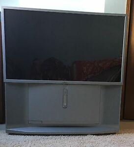 "Sony 57"" TV and LG Blu-Ray Player"