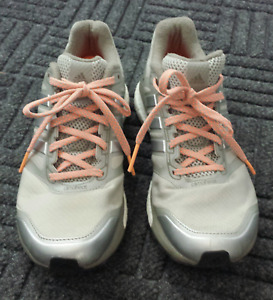Adidas Grey/Silver Supernova Boost Running Shoes/Sneakers Size 7