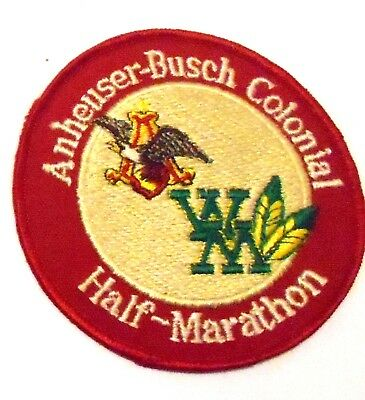 "Anheuser Busch Beer Jacket  Patch Embroidered Ale 3-1/2"" inch Marathon Eagle"