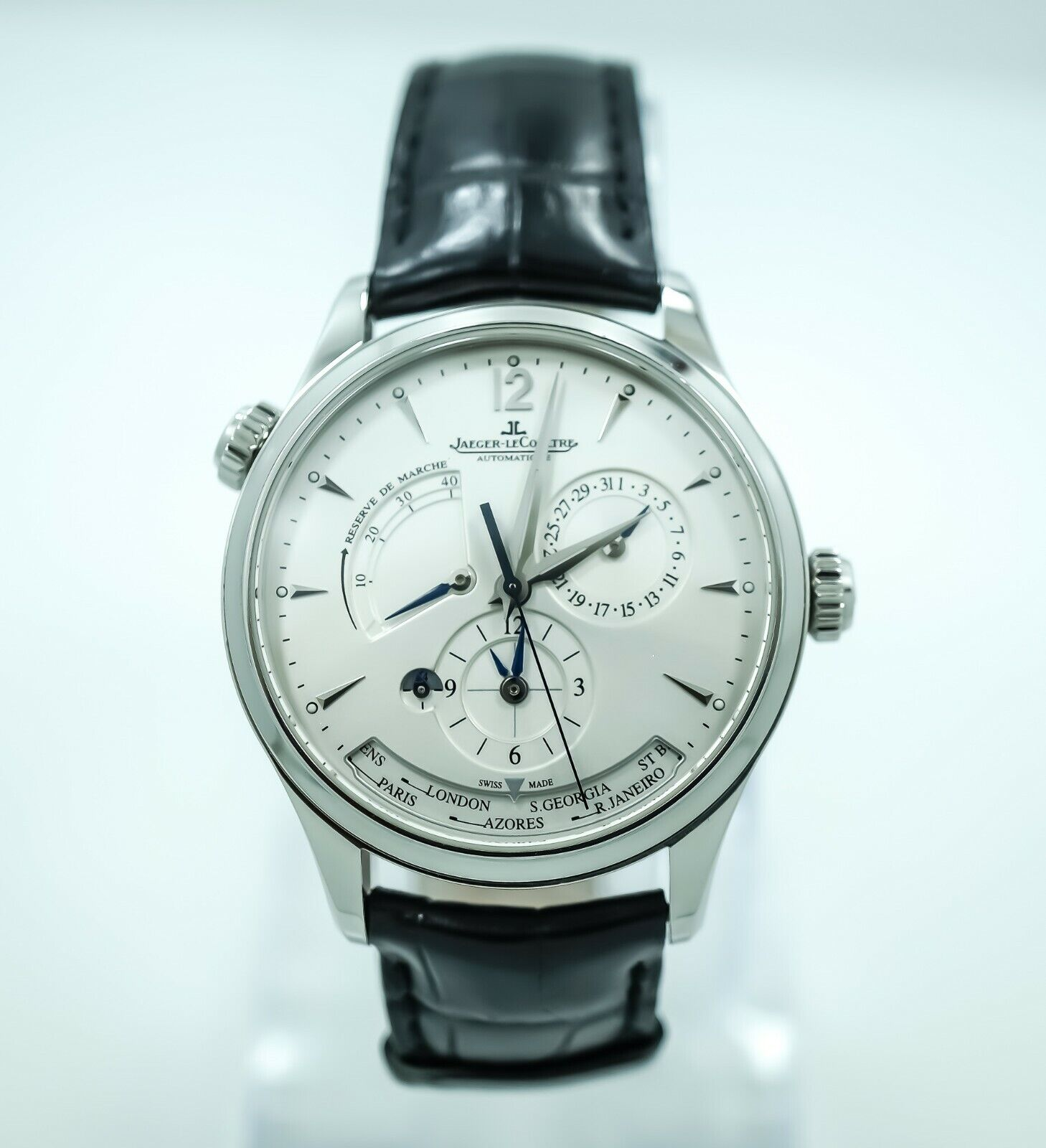Jaeger LeCoultre Master Geographic ref 176.8.29.s 39mm - watch picture 1