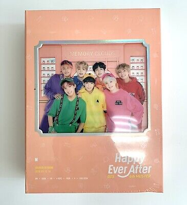 BTS 4th Muster Happy Ever After DVD NEW FACTORY SEALED