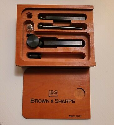 Brown And Sharpe Bestest Dial Indicator No 7025 New Old Stock With Box