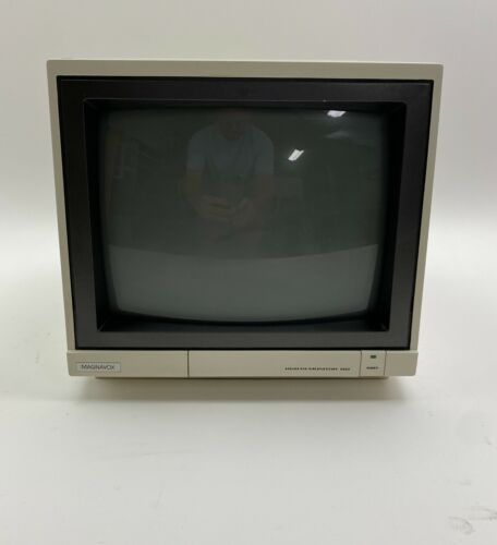 """Magnavox RGB 80 Monitor 13"""" Display for Commodore Computers & Composite 1987"""