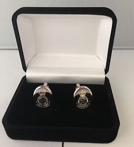 RMA-SANDHURST-REGIMENT-CREST-CUFFLINKS-BRAND-NEW-IN-VELVET-BOX