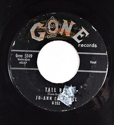 Jo-Ann Campbell – Happy New Year Baby / Tall Boy Gone Records 45, used for sale  Fort Myers