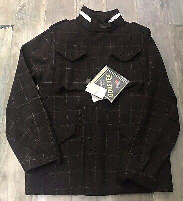 BNWT Visvim Bickle M65 Jacket Gore Tex Harris Tweed Brown XL Supreme Acronym