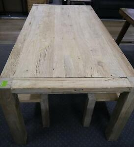 New Provincial Rustic Recycled Timber Elm Wood Dining Tables Melbourne CBD Melbourne City Preview