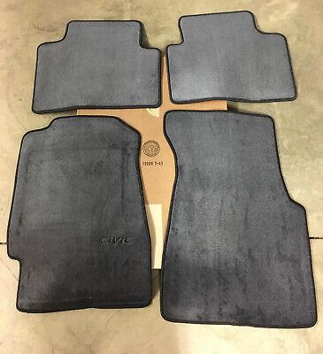 Genuine OEM Honda Civic 3dr Hatchback Charcoal Carpet Floor Mat Set 92 - 95 Mats (1995 Civic 3 Door Hatchback)