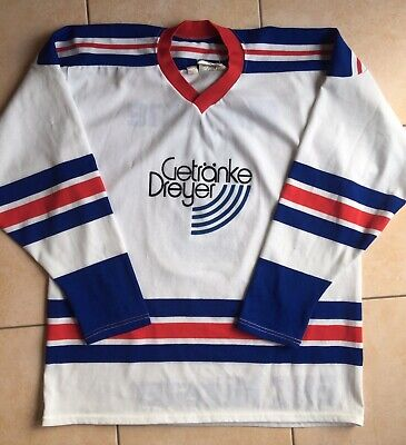 Trikot 1987 Original Matchworn EHC MÜNSTER Eishockey BRD DEL DDR BUNDESLIGA FIFA image
