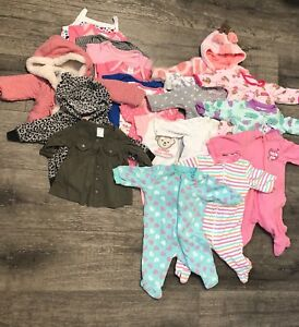 Lot of baby girl cloth 0-3month