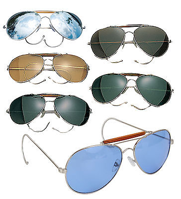 Aviator Military Style Sunglasses Air Force Pilot Fashion Eyewear Rothco (Air Force Style Sunglasses)