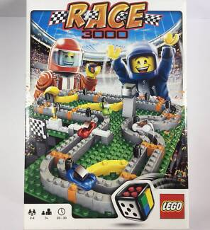 LEGO RACE 3000 Board Game Set 3839 - Complete Good Condition