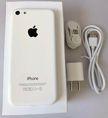 iPhone 5C White Unlocked 16GB AT&T TMobile Sprint Metro Cricket Straight Talk