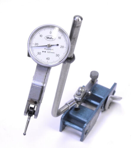 Erick Magna Holder w/ Mahr 800S Puppitast 0.1mm Dial Test Indicator