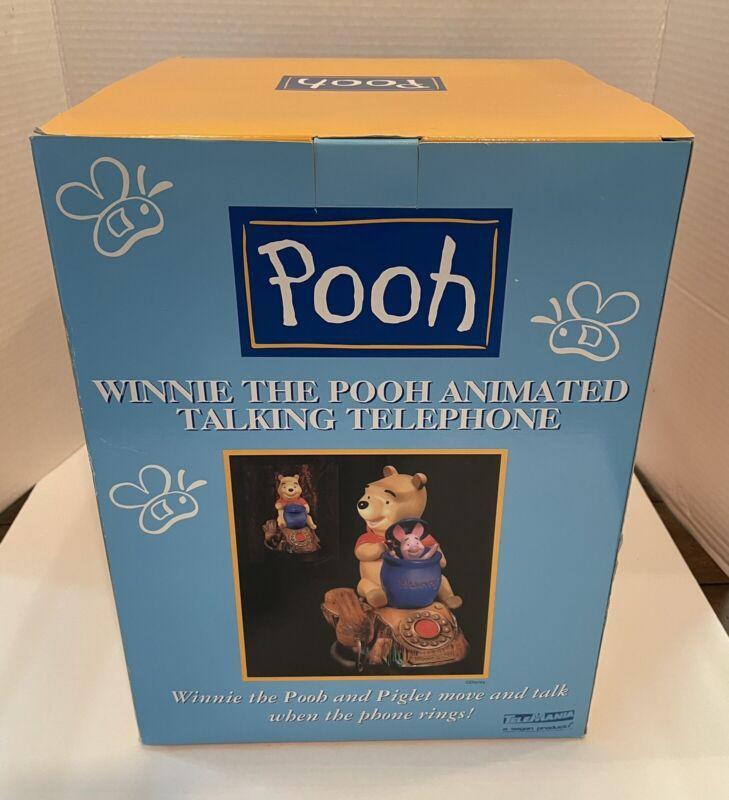 Disney Winnie The Pooh Piglet Animated Talking Telephone Brand New In Box