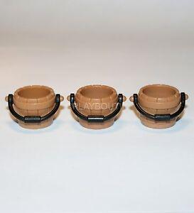 playmobil accessoires western 3 seaux ebay. Black Bedroom Furniture Sets. Home Design Ideas