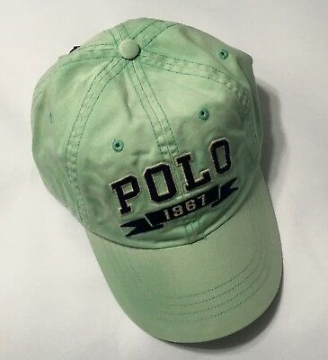 POLO RALPH LAUREN Men Chino Hat Sports Baseball Cap,Vintage Wash Offshore - Vintage Washed Chino