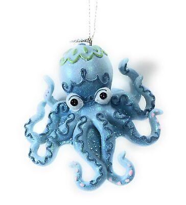 Mermaid Fantasy Octopus Christmas Ornament - Fantasy Christmas Ornament