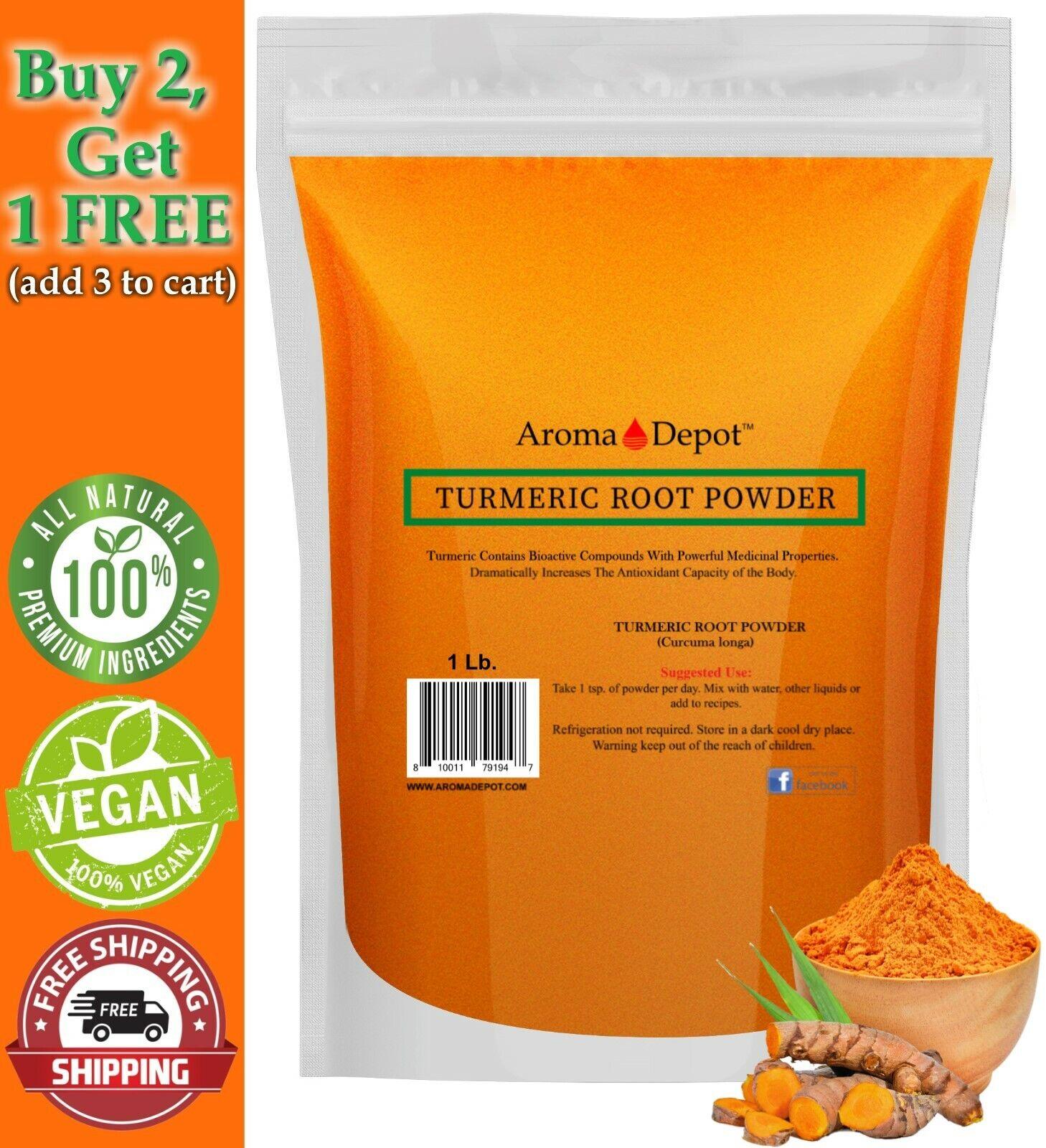 1 lb Tumeric Root Powder 100% Pure  1 Libra Turmeric