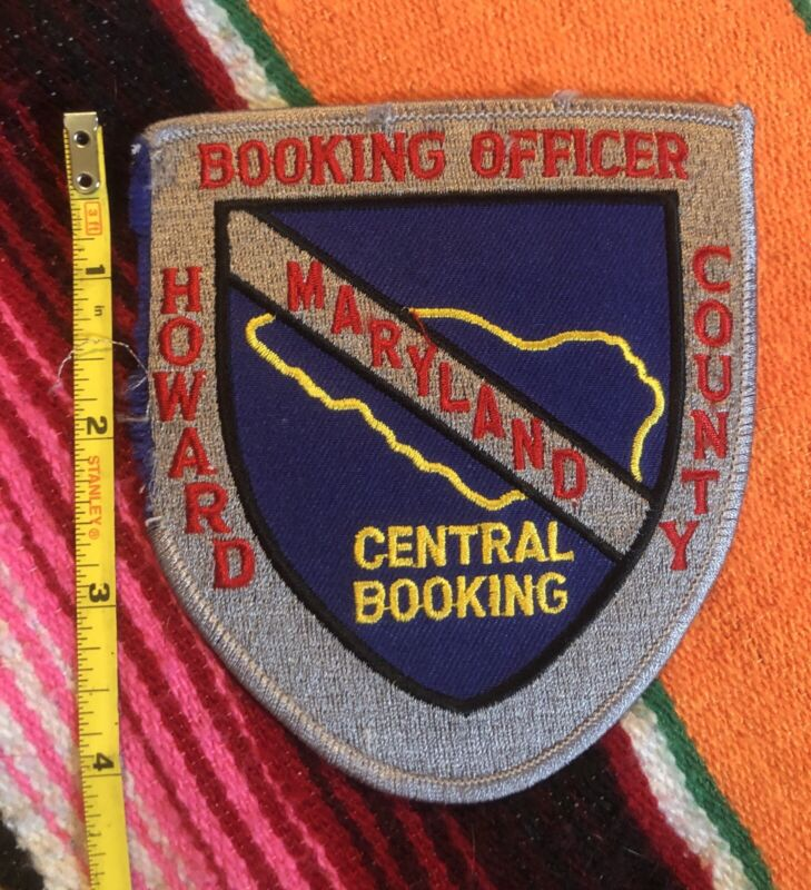 Howard County Maryland (MD) Booking Officer Police Patch (Jail, Prison)
