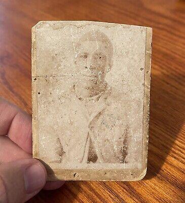 EARLY Black Americana Man Slave CDV Photo 1800's