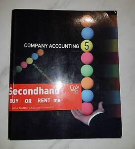 Company Accounting 5th Edition Macquarie Park Ryde Area Preview