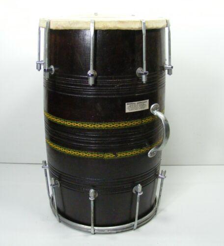 Vintage Punjabi Style Nut & Bolt Dholak with Playing Sticks Dholak Drum