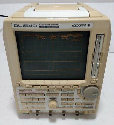Yokogawa Digital Oscilloscope Model Dl1540 150mhz 200mss
