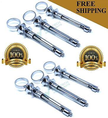 Lot Of 6 1.8cc Stainless Steel Dental Aspirating Syringe Dental Instruments