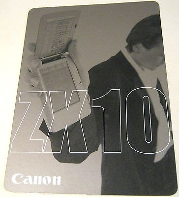 Advertising Canon ZX10 Digital Assistant - unposted