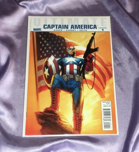 ULTIMATE CAPTAIN AMERICA #1~MARVEL COMICS/AVENGERS~CHRIS EVANS IN TITLE ROLE~