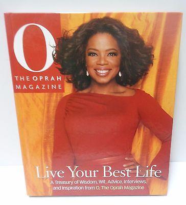 Oprah Winfrey Book Live Your Best Life Isbn 0 8487 3105 0 New Hard Cover