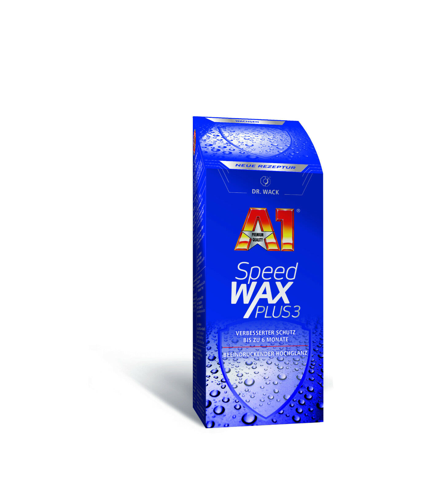 Dr. Wack A1 Speed Wax Plus 3 Lack Schutz Carnauba Wachs 250ml 2731