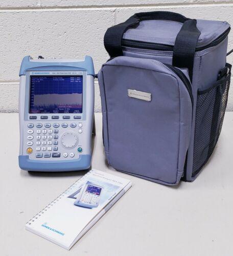 Rohde & Schwarz FSH6 Handheld Spectrum Analyzer w/ PreAmp - 100kHz..6GHz