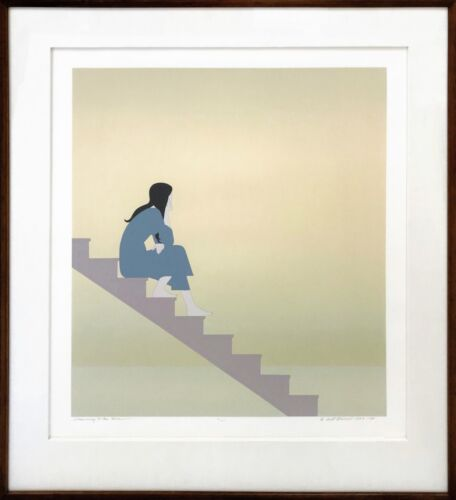 """Will Barnet """"stairway To The Sea"""" 1984 