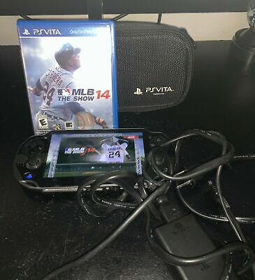 Sony PS Vita - PCH-1001 And Case